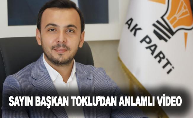AKP Alanya İlçe Başkanı Sayın Mustafa Toklu'dan 10 kasım videosu