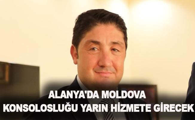Alanya'da Moldova Konsolosluğu yarın hizmete girecek