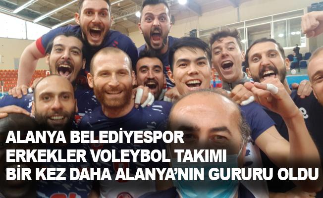 Alanya Belediyesi Voleybol Takımı ligin en iyisi seçildi