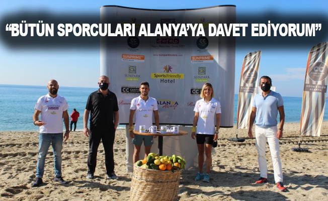 Milli sporcular olimpiyatlara Alanya'da hazırlanıyor
