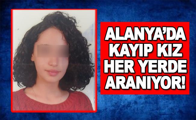 Alanya'da Kayıp Kız Her Yerde Aranıyor