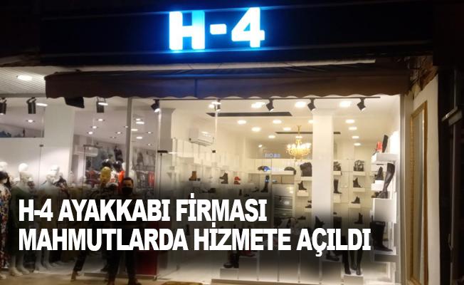 H-4 Mahmutlar Mahallesinde açıldı.
