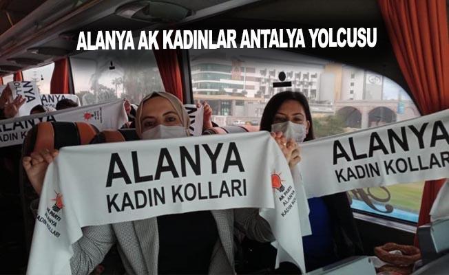 Alanya Ak Kadınlar Antalya yolcusu