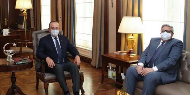 Bakan Çavuşoğlu, Rusya'nın Ankara Büyükelçisi Yerhov ile görüştü