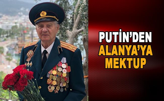 Putin'den Alanya'ya mektup