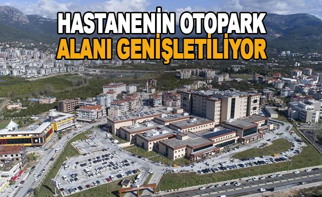 Hastanenin Otopark Alanı Genişletiliyor