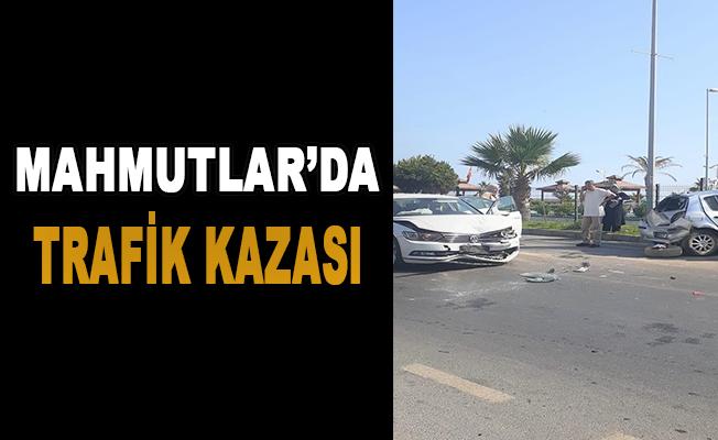 Mahmutlar'da Trafik Kazası