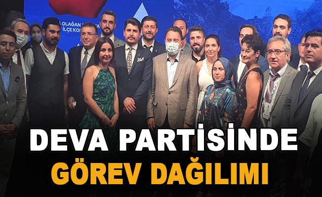 DEVA Partisinde Görev Dağılımı