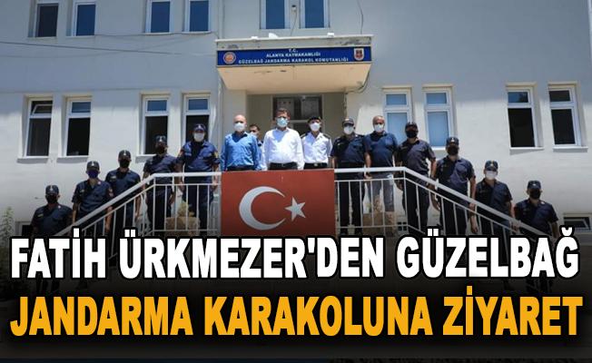 Fatih Ürkmezer'den Güzelbağ Jandarma Karakoluna ziyaret