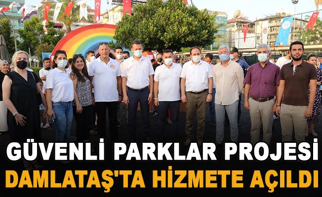 Güvenli parklar projesi Damlataş'ta hizmete açıldı