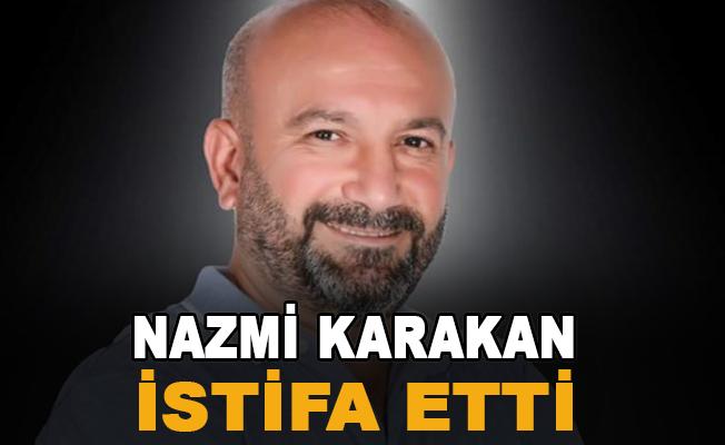Karakan istifa etti