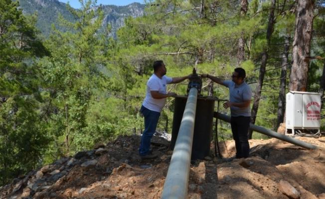 Alanya Gedevet'te su sorunu çözüldü
