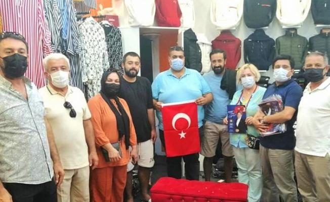 Alanya İYİ Parti'den Konaklı esnafına ziyaret
