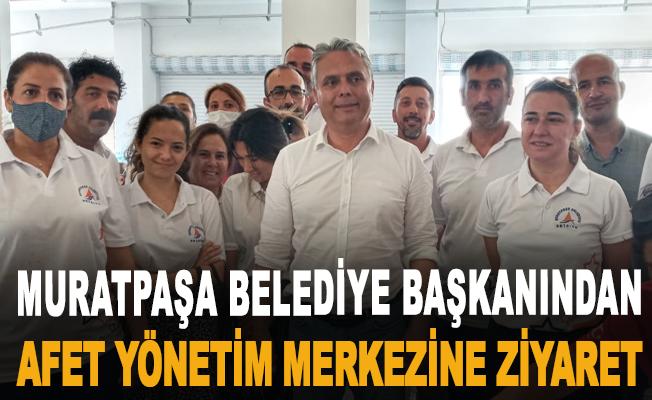 Muratpaşa Belediye Başkanından Afet Yönetim merkezine Ziyaret