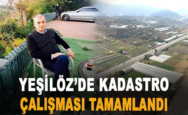 Yeşilöz'de Kadastro Çalışması Tamamlandı