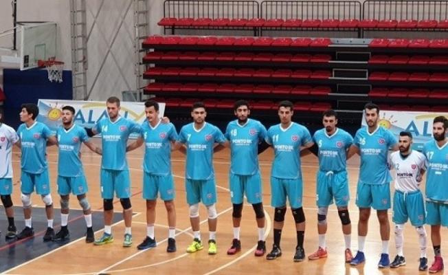 Alanya Belediyespor'un turnuvada ilk sınavı