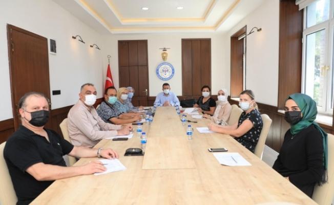 Alanya'da insan hakları kurul toplantısı yapıldı
