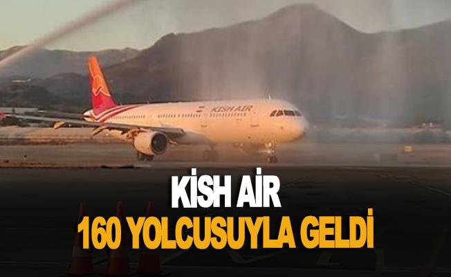 Kish Air 160 yolcusuyla geldi