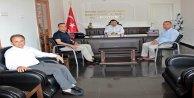 Büyükşehir'den  Kaymakam Tanrıseven'e Demokrasiye Öncülük Etme Teşekkürü