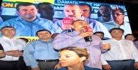 Çavuşoğlu Demokrasi Nöbetinin 9. Gününde Alanya'da