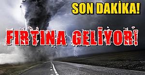 Alanya Son Dakika: Fırtına Geliyor