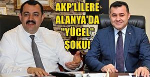 Yücel#039;e Övgü AKP#039;li Başkanı...