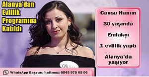 Alanya#039;dan Evlilik Programına...