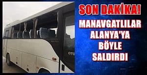 Kestelspor#039;un Otobüslerini Taşladılar