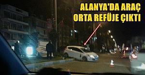 Alanya Atatürk Caddesinde İnanılmaz Kaza