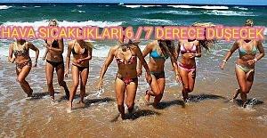 SICAKLIKLAR 6-7 DERECE...