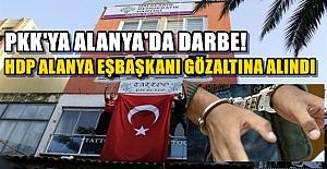 Alanya'da PKK'ya bir Darbe Daha