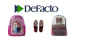 DeFacto'dan Okula Havalı Dönüş!
