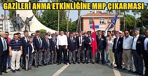 Gazileri Anma Etkinliğine MHP Çıkarması