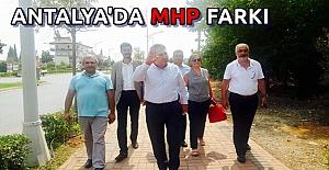 MHP Antalya'yı Karış Karış Dolaşıyor