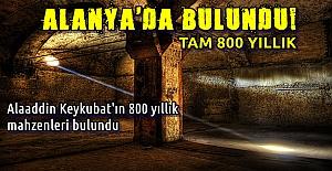 bAlanya#039;da 800 Yıllık Mahzen.../b