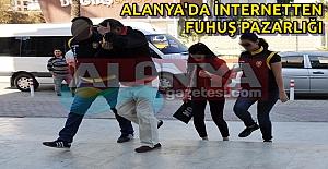 Alanya'da İnternetten Fuhuş Pazarlığı