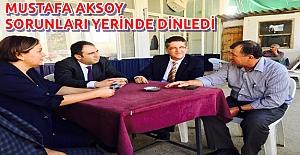 MHP Muhtarların Sorunlarını Dinledi