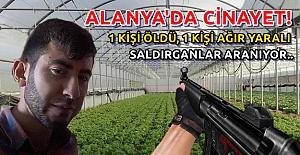 Alanya#039;da Faili Meçhul Cinayet