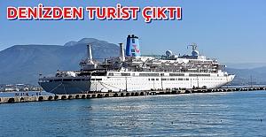 Alanya'ya Dün Deniz Yoluyla Bin 192 Turist Geldi