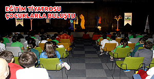 Eğitim Tiyatrosu Çocuklarla Buluştu