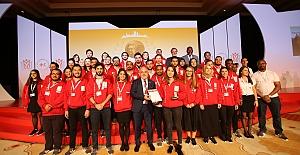 Kızılay gençliğine uluslararası ödül