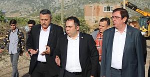 MHP yönetimi afet bölgesindeydi