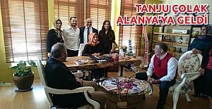 Tanju Çolak Alanya'daydı