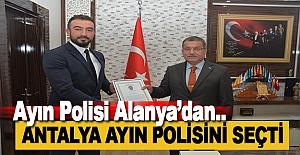 Antalya'da Ayın Polisi Yine Alanya'dan