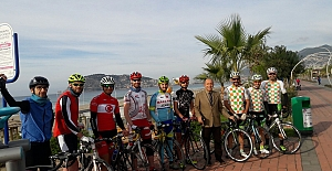 Bisiklette Antrenmanlara Devam