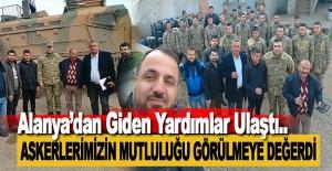 Alanya#039;dan Afrin#039;deki Askerlerimize...