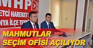 Mahmutlar Seçim Ofisi Açılıyor