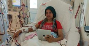 ALKÜ'de Diyaliz hastalarına internet ve bilgisayar hizmeti