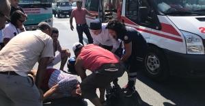 Otobüsün çarptığı Norveçli erkek turist ağır yaralandı