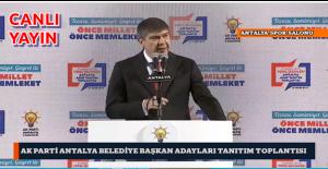 Ak Parti Antalya Belediye Başkanları Adayları Tanıtım Toplantısı